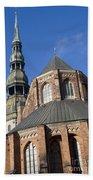 St. Peter's Church Riga Beach Towel