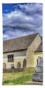 St Sannans Church Bedwellty 2 Beach Towel