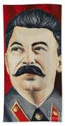 Stalin Beach Towel