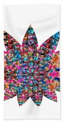 Star Ufo U.f.o. Sprinkled Crystal Stone Graphic Decorations Navinjoshi  Rights Managed Images Graphi Beach Towel