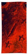 Stars And Gutters Beach Towel