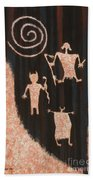 Stories In Stone Beach Towel