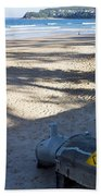 Storm Drainage Pipe On Manly Beach Beach Towel