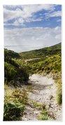 Strahan Coast Landscape Winding To The Ocean Beach Towel