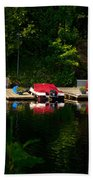 Summer Morning On Muskoka River Beach Towel