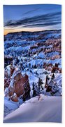 Sunrise At Bryce Beach Towel