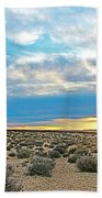 Sunset At Alstrom Point In Glen Canyon National Recreation Area-utah Beach Towel