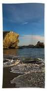 Sunset At Pismo Beach Beach Towel