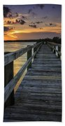 Sunset At Wildcat Cove Beach Towel