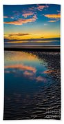 Sunset Reflections Beach Towel