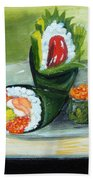 Sushi 5 Beach Towel