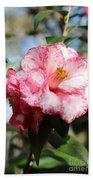 Sweet Camellia Beach Towel