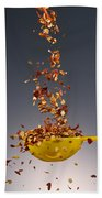 1 Tablespoon Red Pepper Flakes Beach Towel
