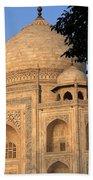 Taj Mahal In Evening Light Beach Towel
