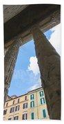 Tempio Di Adriano Beach Towel