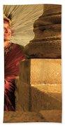 Temple Of Apollo Beach Towel