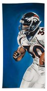 Terrell Davis  Beach Towel