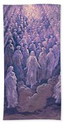 The Angels In The Planet Mercury Beach Towel
