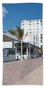 The Beach In Hollywood Florida Beach Towel