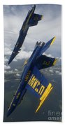 The Blue Angels Perform A Looping Beach Towel
