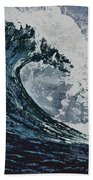 The Blue Crush Beach Towel