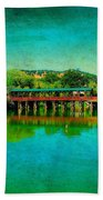 The Bridge 13 Beach Towel