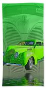 The Green Machine Beach Towel