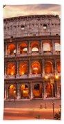 The Majestic Coliseum - Rome - Italy Beach Towel