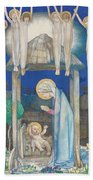 The Nativity Beach Towel