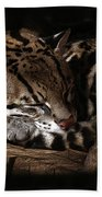 The Ocelot Beach Towel