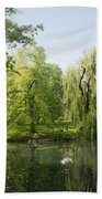 The Pool Central Park Beach Towel
