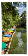 The River Walk Beach Towel