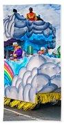 The Spirit Of Mardi Gras Beach Towel by Steve Harrington