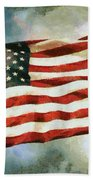 The Stars And Stripes Beach Towel