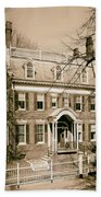 The Taft House - Brown University 1958 Beach Towel