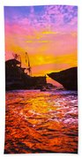 The Tanah Lot Temple - Bali - Indonesia Beach Towel