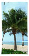 Three Is Not A Crowd Beach Towel
