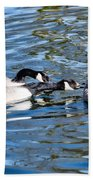 Three's A Crowd Beach Towel