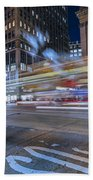 Time Square Beach Towel