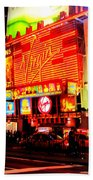 Times Square - New York Beach Towel