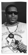 Rapper Tone Loc Beach Towel