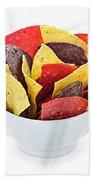 Tortilla Chips Beach Towel