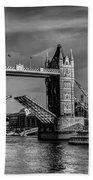 Tower Bridge Vintage Beach Towel