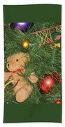 Tree Of Toys Beach Towel