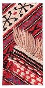 Turkish Rug Beach Towel by Tom Gowanlock