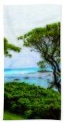 Turtle Bay View Beach Towel