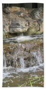 Turtle Head Falls  Beach Towel