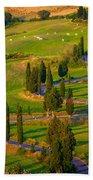 Tuscan Road Beach Towel