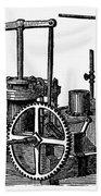 Twin-screw Steamer, 1878 Beach Towel