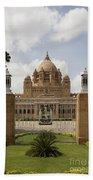 Umaid Bhawan Palace, India Beach Towel